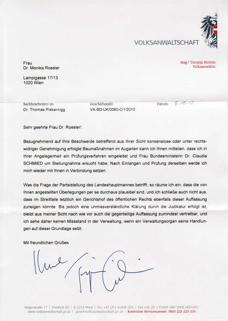 12 November Pro Bürgerbeteiligung Das Josefinische