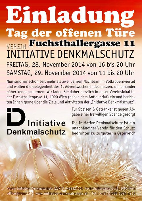 TAG DER OFFENEN TÜR - Verein Initiative Denkmalschutz